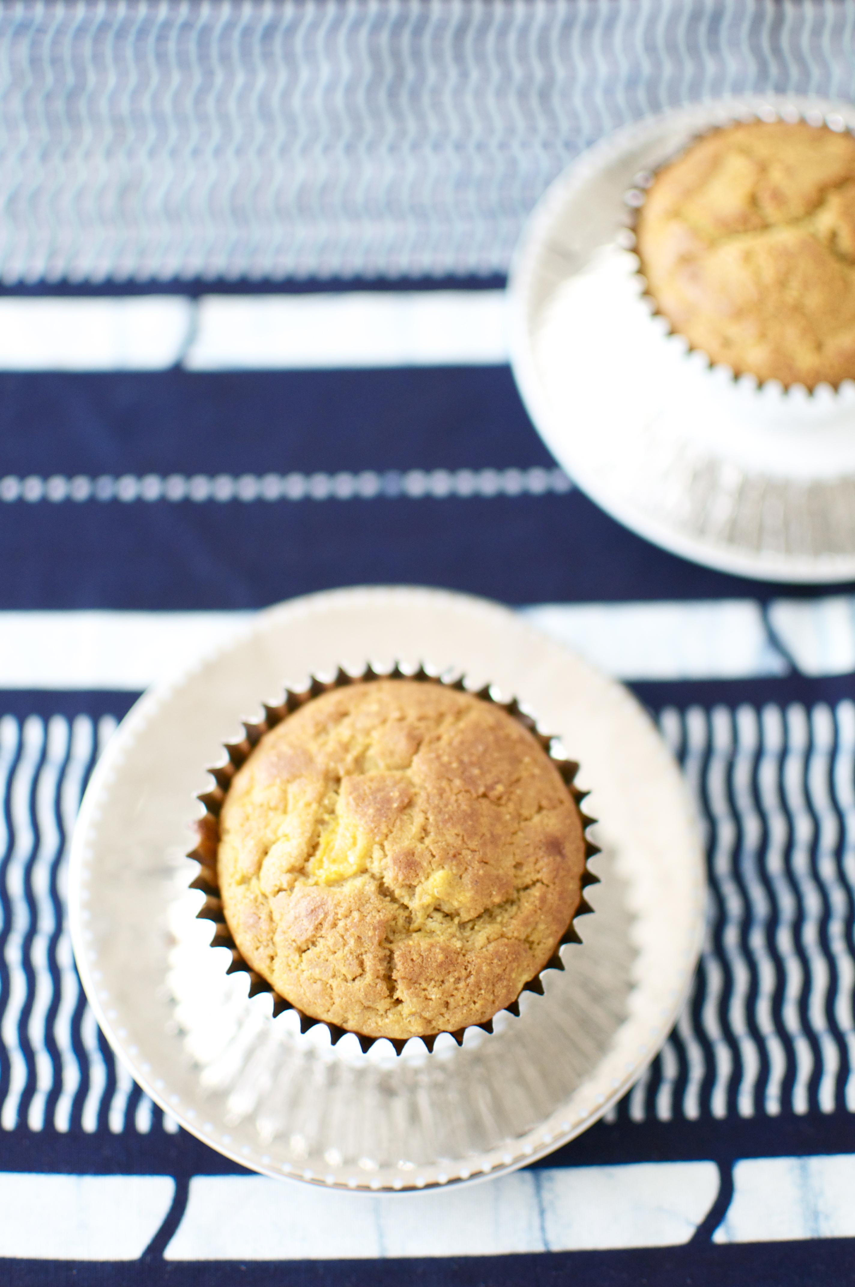 Gluten-Free, Sugar Free Mango Muffins with Chickpea Flour ...