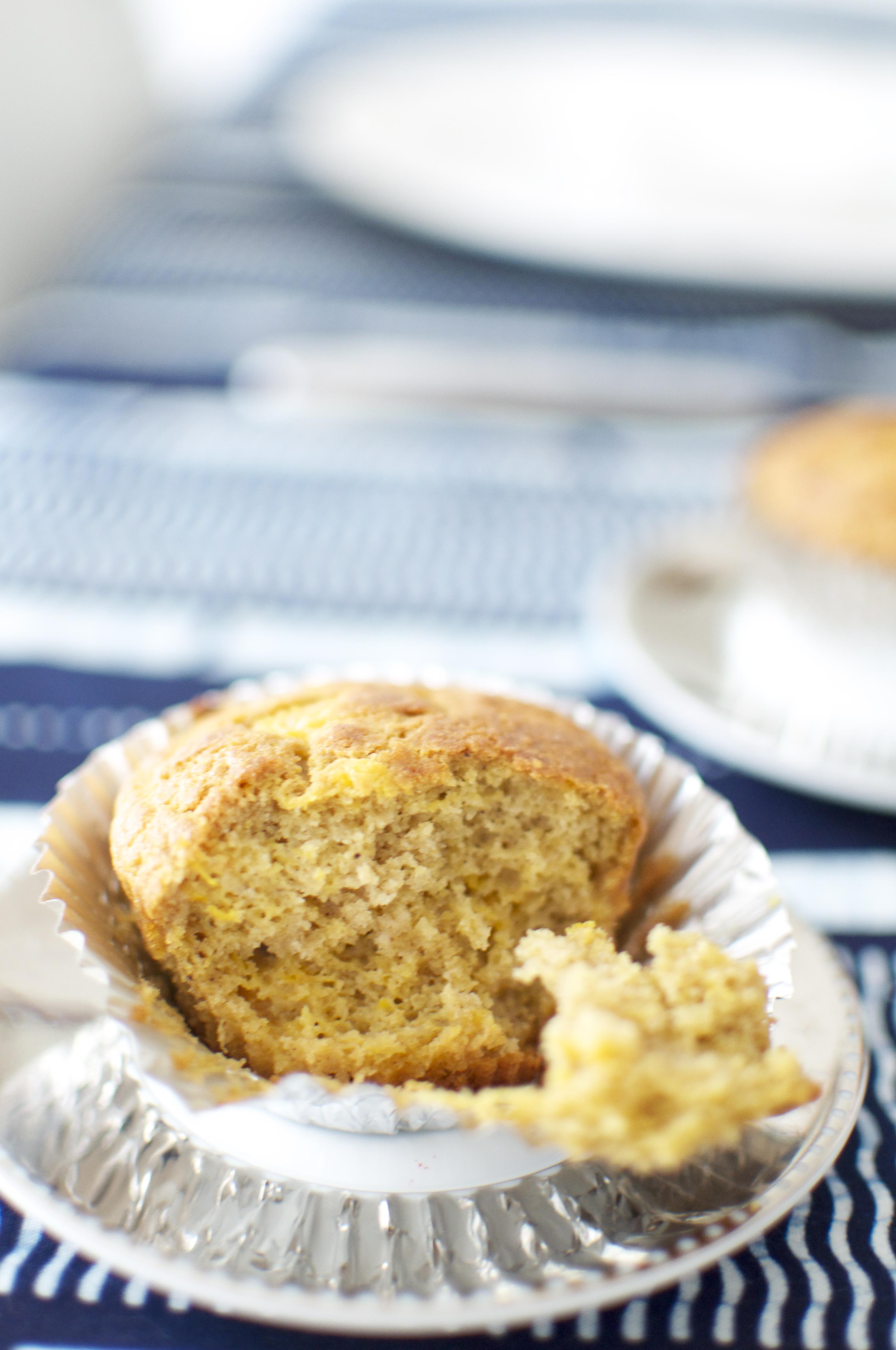 Gluten-Free, Sugar Free Mango Muffins with Chickpea Flour   SMART ...